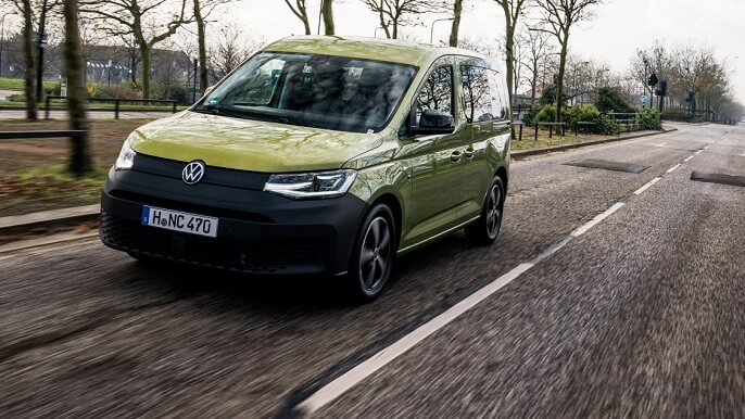 volkswagen caddy new Extra