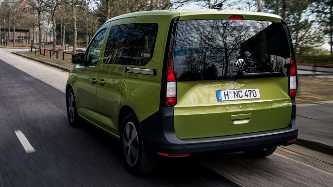 volkswagen caddy new Rear