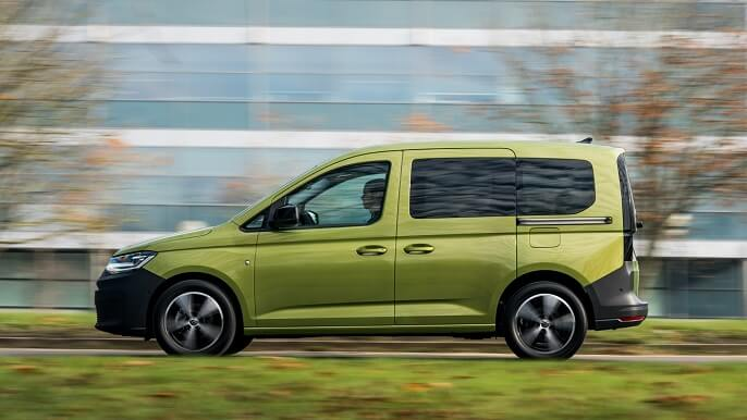 volkswagen caddy new Side