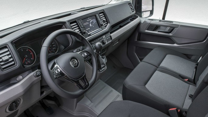 volkswagen crafter new Interior