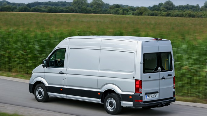 volkswagen crafter new Rear