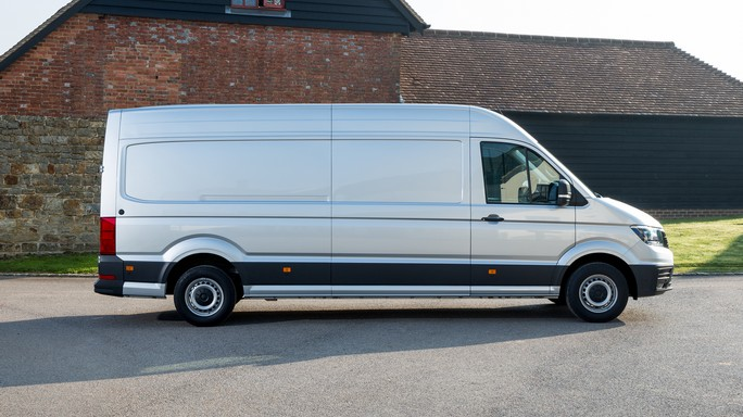 volkswagen crafter new Side