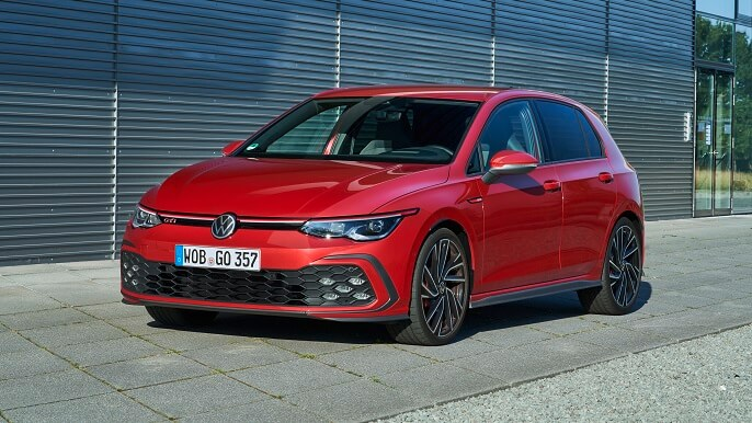 volkswagen golf GTI new Front