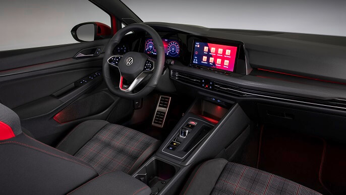 volkswagen golf GTI new Interior