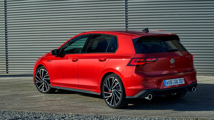 volkswagen golf GTI new Rear