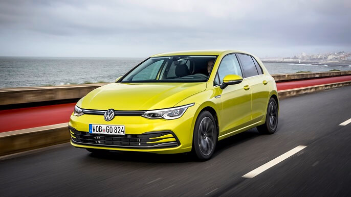 volkswagen golf new Extra