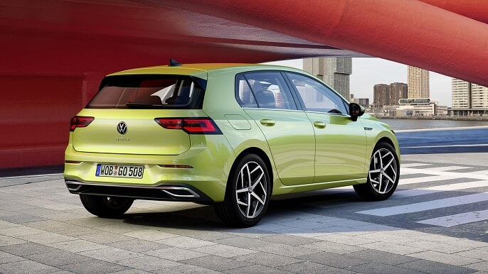 volkswagen golf new Rear