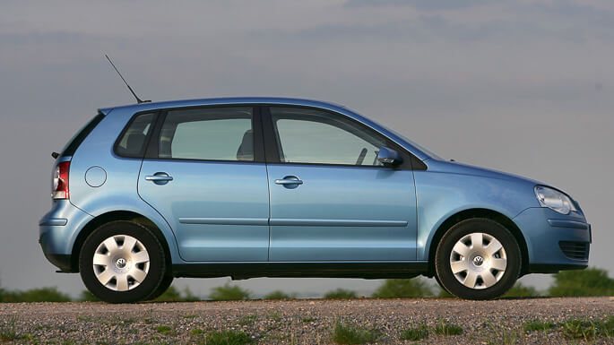 volkswagen polo 2003 Side