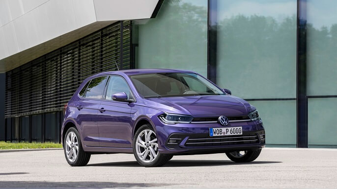 volkswagen polo new Front