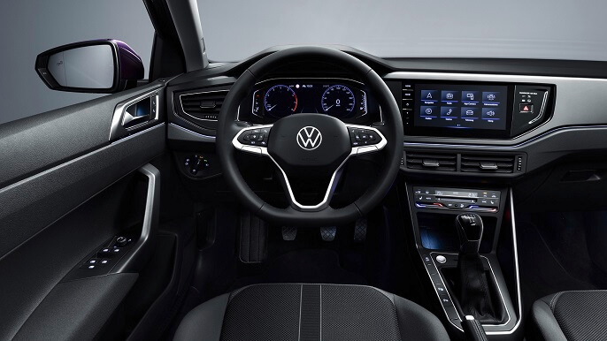 volkswagen polo new Interior
