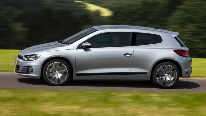 volkswagen scirocco new Side