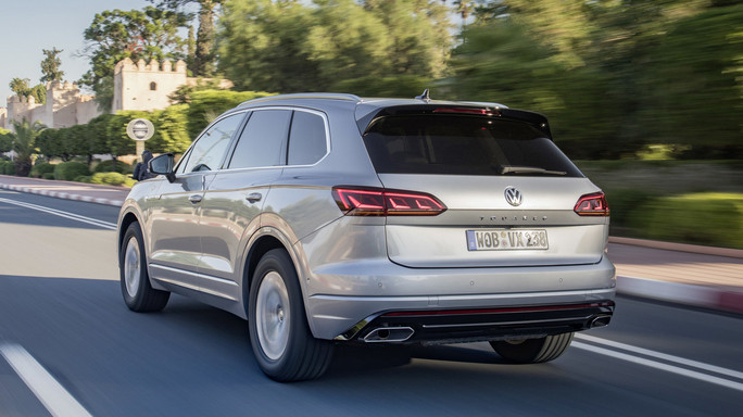 volkswagen touareg new Rear