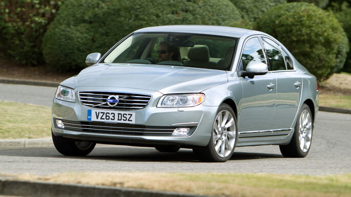 volvo S80 new Front