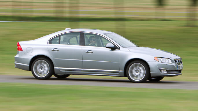volvo S80 new Side
