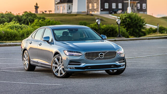 volvo s90 new front