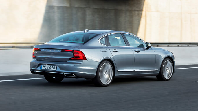 volvo s90 new rear