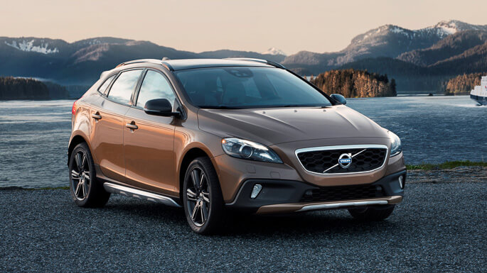 volvo v40 cross country new Front