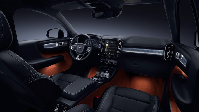 volvo XC40 new Interior