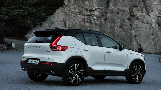 volvo XC40 new Rear