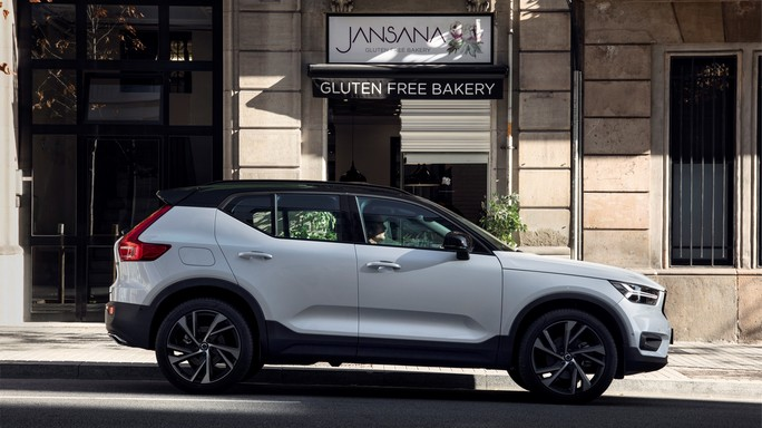 volvo XC40 new Side