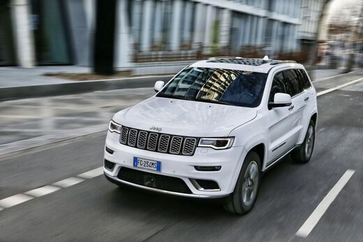 האופנה האופנתית חדשות רכב - ג'יפ גרנד צ'ירוקי מקבל גרסת V8 - אתר iCar BD-18
