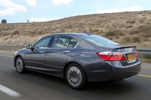 מדהים מבחני רכב - הונדה אקורד היברידית - נהיגה ראשונה - iCar LA-44