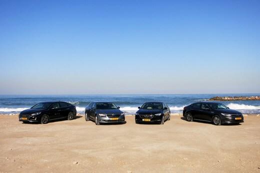 מכוניות מנהלים / צילום: נועם ריין