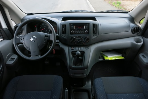 מדהים מבחני רכב - ניסאן NV200 - מבחן רכב - iCar BU-02