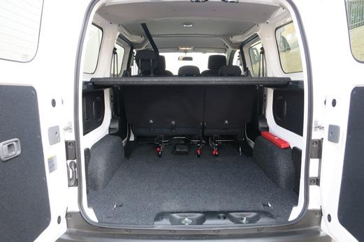 מגניב ביותר מבחני רכב - ניסאן NV200 - מבחן רכב - iCar BG-99