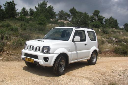 מפוארת מבחני רכב - סוזוקי ג'ימני ידני - מבחן רכב - iCar YE-18