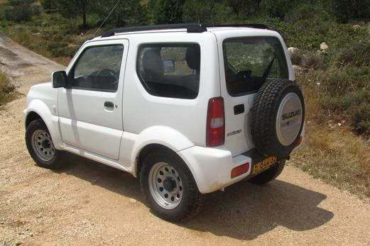 משהו רציני מבחני רכב - סוזוקי ג'ימני ידני - מבחן רכב - iCar BF-44