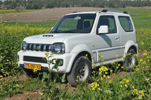 סופר מבחני רכב - סוזוקי ג'ימני - מבחן וידאו - iCar ZF-28