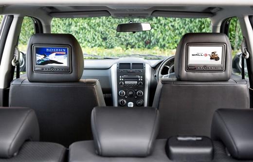 רק החוצה מונחי רכב וטכנולוגיה - 5 דרכים להתקין מסכי וידאו ברכב - iCar UZ-73