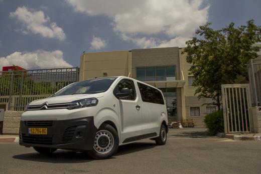טוב מאוד מבחני רכב - סיטרואן ג'מפי - מבחן רכב - iCar OI-68