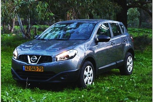 סופר מבחני רכב - ניסאן קשקאי ידני - מבחן רכב - iCar EB-41