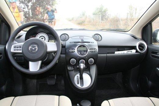 מדהים מבחני רכב - מאזדה 2 סדאן - מבחן רכב - iCar ZM-09