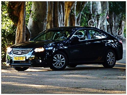 עדכון מעודכן מבחני רכב - הונדה אקורד 2012 - מבחן רכב - iCar BP-79