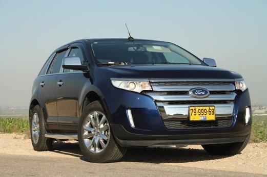 מותג חדש מבחני רכב - פורד אדג' - מבחן רכב - iCar ZZ-26